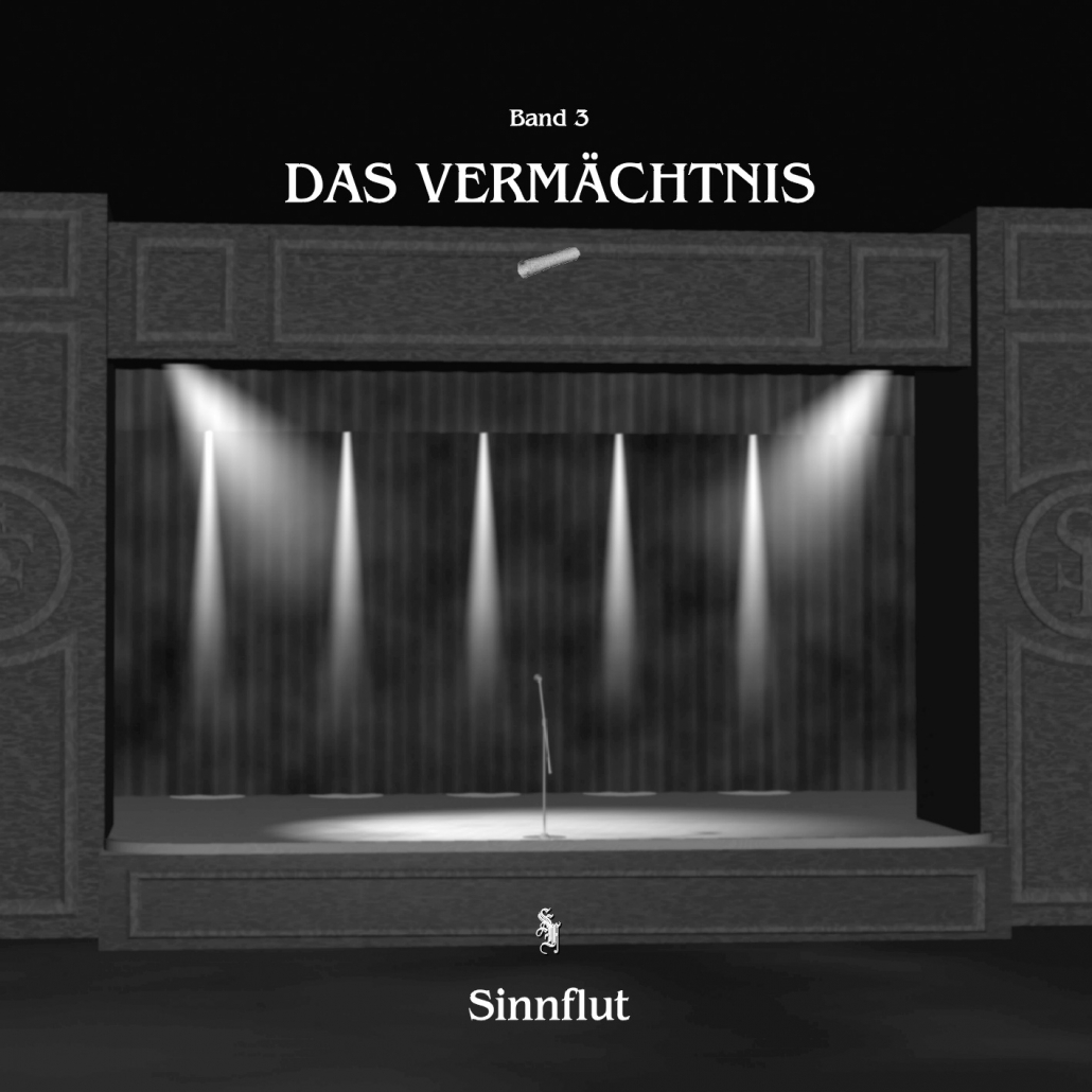 Album-Cover für Band 3 - Das Vermächtnis
